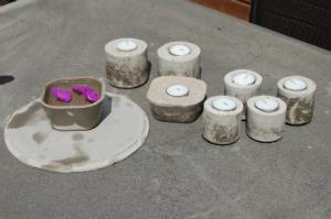 Leg med beton